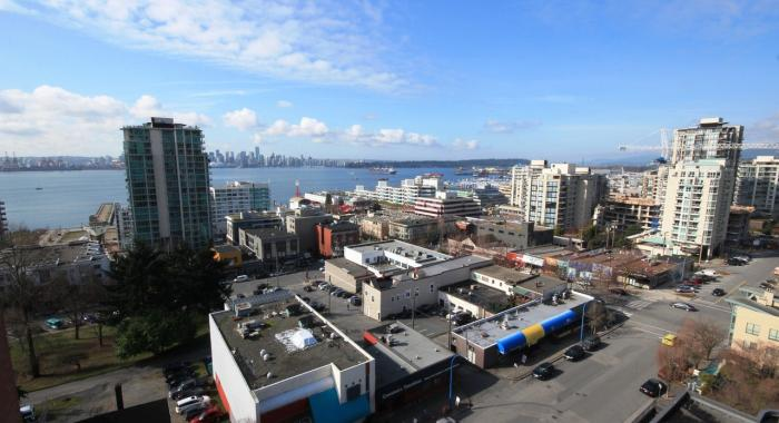 1404 - 130 East 2nd Street, Lower Lonsdale, North Vancouver
